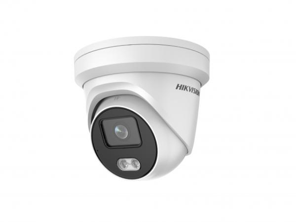 Купольная IP-видеокамера Hikvision DS-2CD2327G2-LU(4mm) с LED-подсветкой до 30м