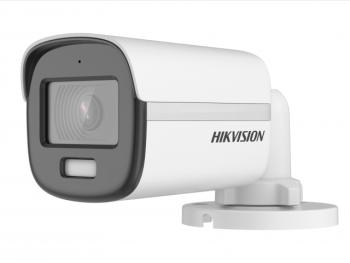 Цилиндрическая HD-TVI видеокамера Hikvision DS-2CE10DF3T-FS(2.8mm) с LED подсветкой до 20м