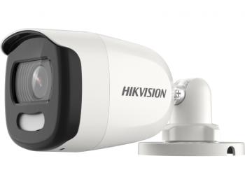 Цилиндрическая HD-TVI видеокамера Hikvision DS-2CE10HFT-F(6mm) с LED подсветкой до 20 м