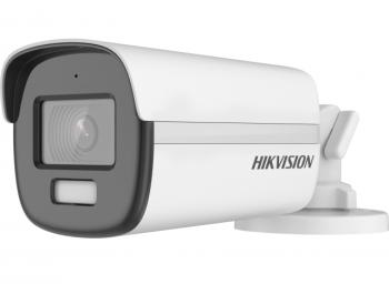 Цилиндрическая HD-TVI видеокамера Hikvision DS-2CE12DF3T-FS(2.8mm) с LED подсветкой до 40 м