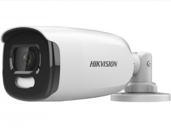 Цилиндрическая HD-TVI видеокамера Hikvision DS-2CE12HFT-F(6mm) с LED подсветкой до 40м