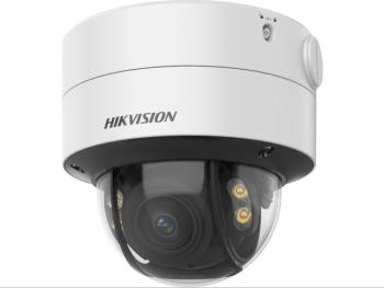 Купольная HD-TVI видеокамера Hikvision DS-2CE59DF8T-AVPZE(2.8-12mm) с LED подсветкой до 40м