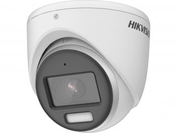 Купольная HD-TVI видеокамера Hikvision DS-2CE70DF3T-MFS(2.8mm) с LED подсветкой до 20м