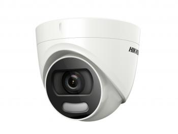 Купольная HD-TVI видеокамера Hikvision DS-2CE72HFT-F(6mm) с LED подсветкой до 20м