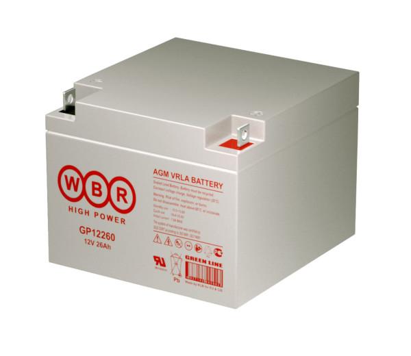 Аккумулятор WBR 12V 26Ah GP12260