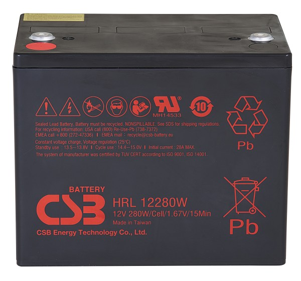 Аккумулятор CSB 12V 70Ah HRL12280W