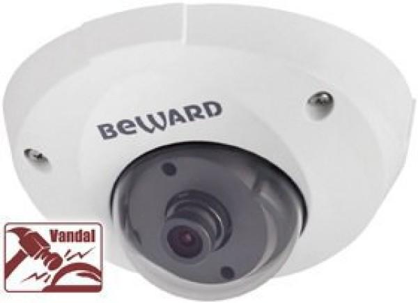 Купольная IP-видеокамера Beward B1210DM (8мм)