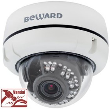 Купольная IP-видеокамера Beward B1510DV с ИК-подсветкой до 20 м