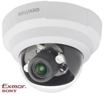 Купольная IP-видеокамера Beward B1710DR с ИК-подсветкой до 10 м