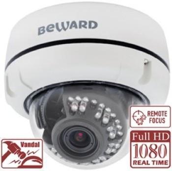 Купольная IP-видеокамера Beward B2520DVZ с ИК-подсветкой до 25 м