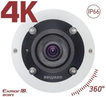 Панорамная Fisheye IP-видеокамера Beward BD3990FLM с ИК-подсветкой до 5 м