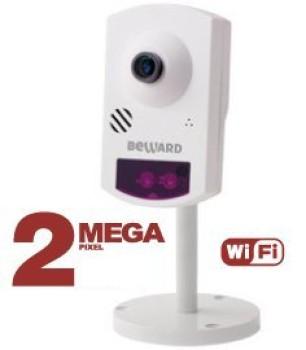 Компактная IP-видеокамера Beward BD43CW с ИК-подсветкой до 5 м