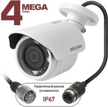 Цилиндрическая IP-видеокамера Beward BD4640RC с ИК-подсветкой до 15 м