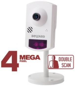 Компактная IP-видеокамера Beward BD46C с ИК-подсветкой до 5 м