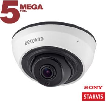 Купольная IP-видеокамера BEWARD SV3210DR (3.6 мм) с ИК-подсветкой до 20 м