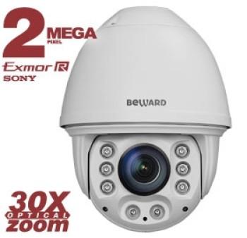 Скоростная поворотная IP-видеокамера Beward B96-30H с ИК-подсветкой до 150 м
