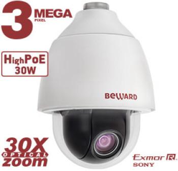 Скоростная поворотная IP-видеокамера Beward BD143P30