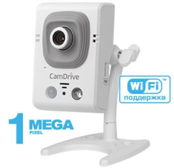 Компактная IP-видеокамера Beward CD330 с ИК-подсветкой до 8 м