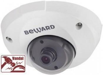 Купольная IP-видеокамера BEWARD CD400 (2.5 мм)
