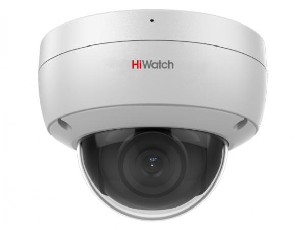 Купольная IP-видеокамера HiWatch DS-I252M (4 mm) с EXIR-подсветкой до 30м и встроенным микрофоном