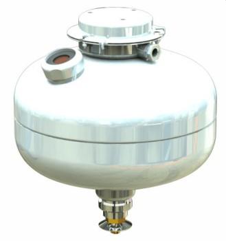 Модуль пожаротушения тонкораспылённой водой МУПТВ(Взр)-13,5-ГЗ-ВД (tºC=-30)