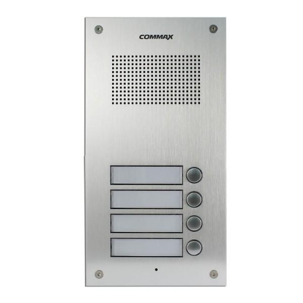Вызывная панель аудиодомофона Commax DR-4UM