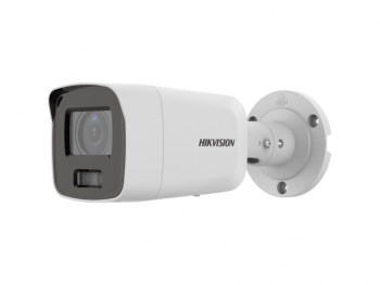 Цилиндрическая IP-видеокамера Hikvision DS-2CD2087G2-LU(2.8mm)(С) с LED-подсветкой до 40м