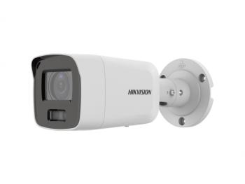 Цилиндрическая IP-видеокамера Hikvision DS-2CD2087G2-LU(4mm)(C) с LED-подсветкой до 40м