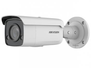 Цилиндрическая IP-видеокамера Hikvision DS-2CD2T27G2-L(C)(6mm) с LED-подсветкой до 60 м