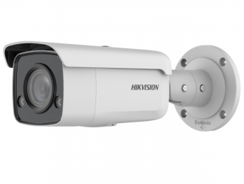 Цилиндрическая IP-видеокамера Hikvision DS-2CD2T47G2-L(C)(6mm) с LED-подсветкой до 60 м