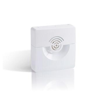 Оповещатель охранно-пожарный звуковой Рубеж ОПОП 2-35 12В (корпус белый)