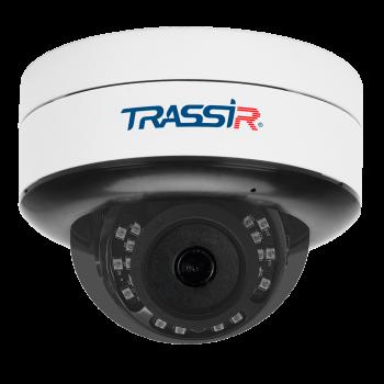 Купольная IP-видеокамера Trassir TR-D3121IR2 v6 (2.8 мм) с ИК-подсветкой до 25 м