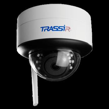 Компактная купольная IP-видеокамера Trassir TR-D3121IR2W v3 (2.8 мм) с WiFi и ИК-подсветкой до 25 м