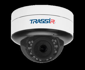 Купольная IP-видеокамера Trassir TR-D3151IR2 (3.6мм) с ИК-подсветкой до 25 м