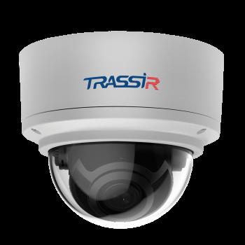 Купольная IP-видеокамера Trassir TR-D3181IR3 v2 (2.8мм) с ИК-подсветкой до 30 м