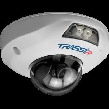 Купольная IP-видеокамера Trassir TR-D4151IR1 (2.8мм) с ИК-подсветкой до 15 м