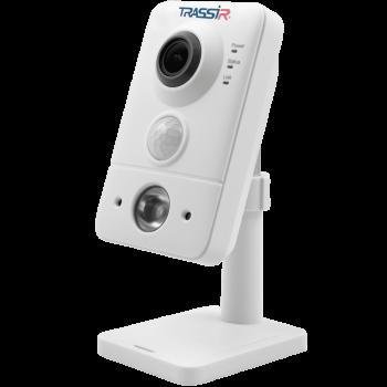 Компактная IP-видеокамера Trassir TR-D7151IR1 (1.4мм) с ИК-подсветкой до 10 м