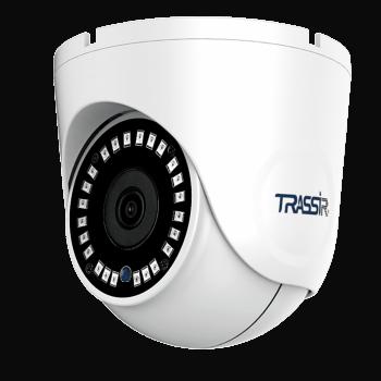 Купольная IP-видеокамера Trassir TR-D8122ZIR2 v6 (2.8-8мм) с ИК-подсветкой до 25 м