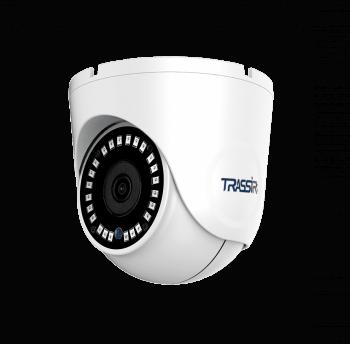Купольная IP-видеокамера Trassir TR-D8151IR2 (2.8мм) и ИК-подсветкой до 25 м