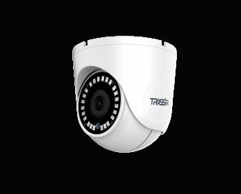 Купольная IP-видеокамера Trassir TR-D8152ZIR2 (2.8-8 мм) с ИК-подсветкой до 25 м