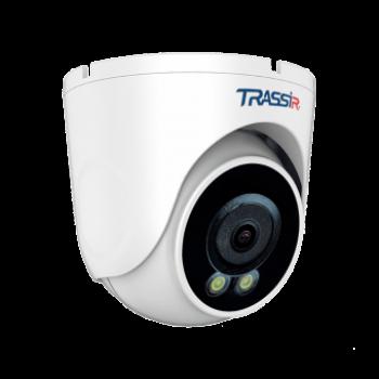 Купольная IP-видеокамера Trassir TR-D8221WDCL3 (4мм) с LED-подсветкой до 30 м