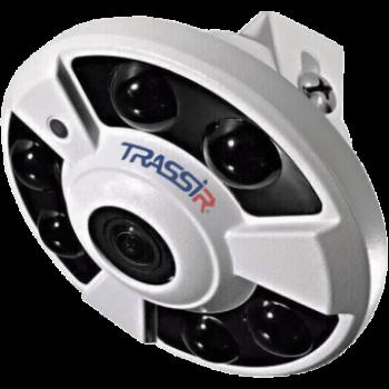 Купольная панорамная IP-видеокамера Trassir TR-D9151IR2 с ИК-подсветкой до 25 м