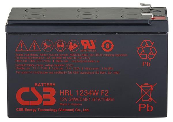 Аккумулятор CSB 12V 9Ah HRL1234W