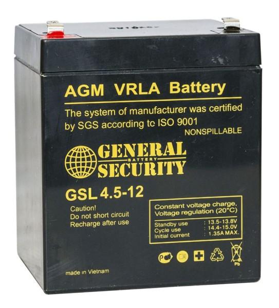 Аккумулятор General Security 12V 4,5Ah GSL4.5-12