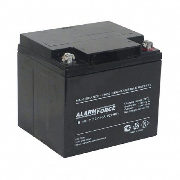 Аккумулятор AlarmForce 12V 40Ah FB 40-12