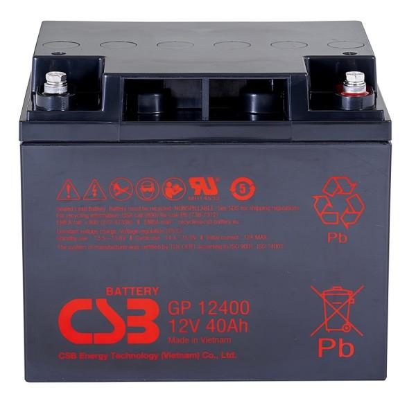 Аккумулятор CSB 12V 40Ah GP12400