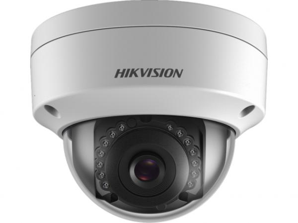 Купольная IP-видеокамера Hikvision DS-2CD2143G0-IU(2.8mm) 4Мп с EXIR-подсветкой до 30м и микрофоном