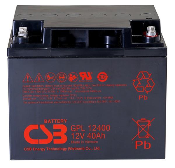 Аккумулятор CSB 12V 40Ah GPL12400
