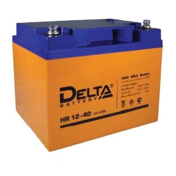 Аккумулятор Delta 12V 40Ah HR 12-40 / HR 12-40 L