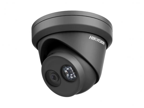 Купольная IP-видеокамера Hikvision DS-2CD2323G0-IU(4mm) с EXIR-подсветкой до 30м и микрофоном